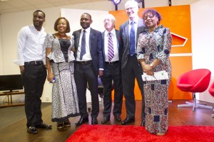 EQUATORIAL GUINEA AMBASSADOR WITH AFS TEAM